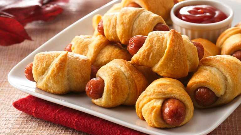 Cresent Roll Pigs In A Blanket