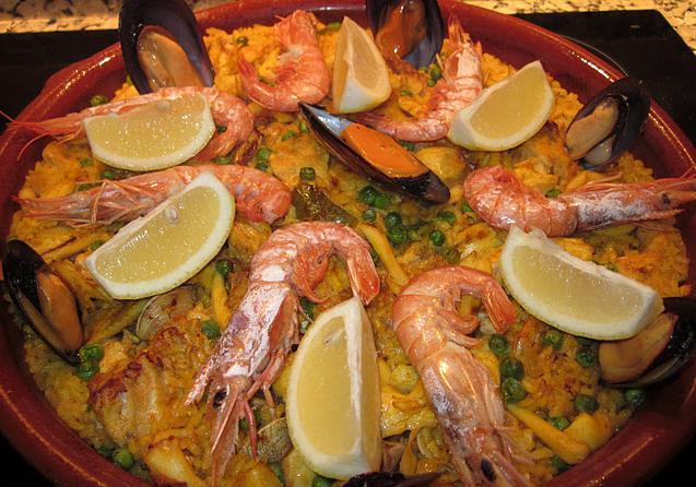 Receta de paella de pescado y marisco - Paella de pescado ...
