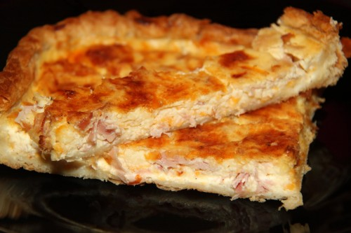 TORTA DE JAMON, QUESO Y YOGURT