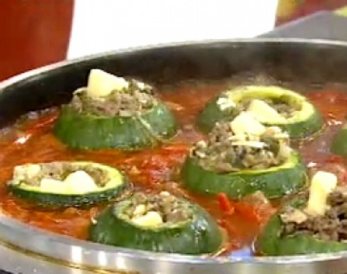 ZAPALLITOS RELLENOS A LA PORTUGUESA
